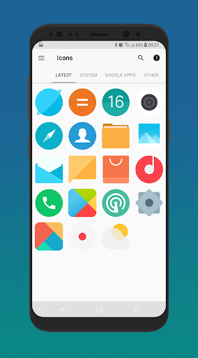 MIUI 9 - Icon Pack Apps for Android screenshot