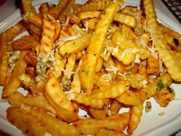 Superb ~ Parm - Garlic Fries Recipe