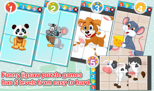 Cute Animals Flashcards V2 PRO Screenshot