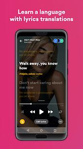 Musixmatch Premium Apk- Lyrics for your music 3