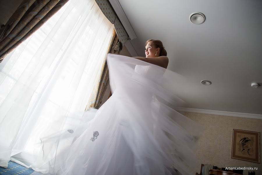 Wedding photographer Artem Lebedinskiy (ArtSoft). Photo of 25.02.2016