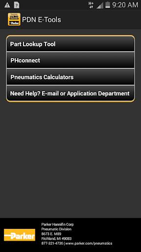 Parker Distributor e-Tools