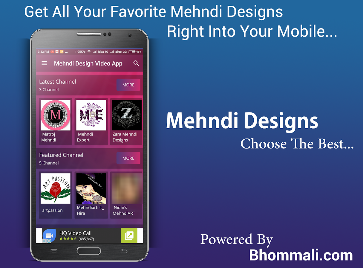Mehndi App For Android Mobile : Mehndi design video app android apps on google play