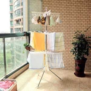 Uscator de rufe vertical pliabil, 170 cm