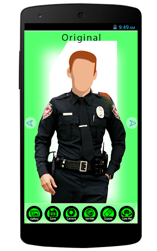 Police Men Dress Photo Editor