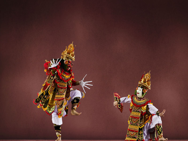 traditional dance as attractions in bali