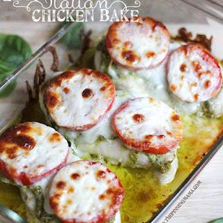 {Easy Dinner Recipe} Italian Chicken Bake Recipe