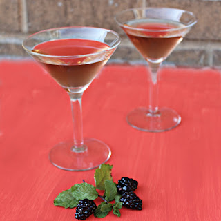 Blackberry Mint Martini