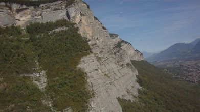 Photo: This rock face to the north was quite lifty but only in really close