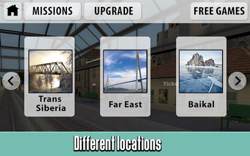 Russian Train Driver Simulator  screenshots 4