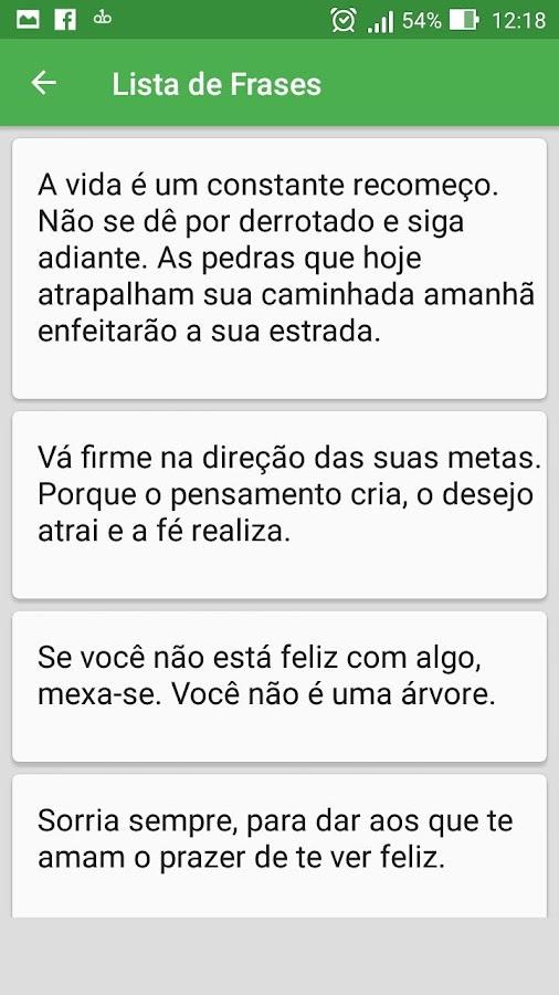 Frases De Motivação Aplicaciones De Android En Google Play
