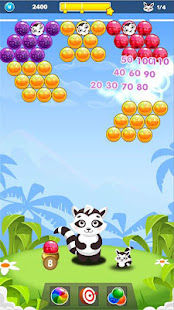 Download Bubble Raccoon New Bubble Shooter For PC Windows and Mac apk screenshot 4