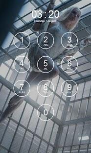 Harley Quinn Lock Screen 4K - náhled