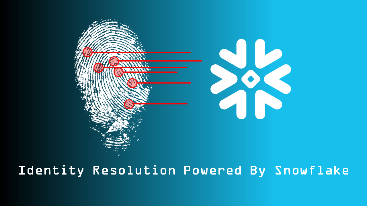 Identity Resolution Powered by Snowflake