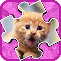 Kids Puzzle: Cats Jigsaw icon