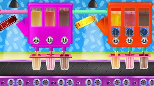 Code Triche Ice Popsicle Factory: jeu fabricant cru00e8me glacu00e9e APK MOD screenshots 5