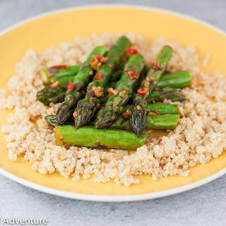 5 Minute Stir Fry Asparagus Recipe