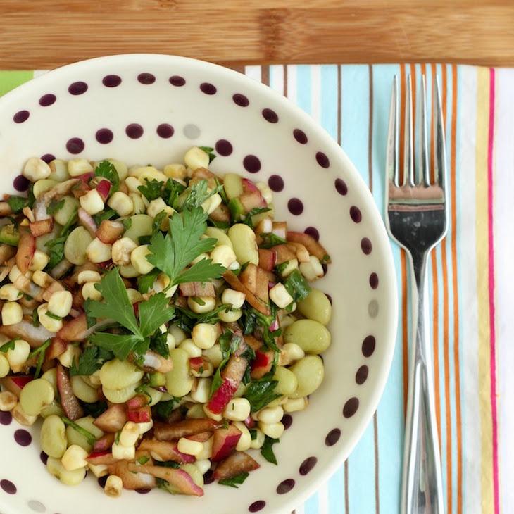 Lima Beans Salad Recipe