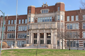 Photo: The high school was built in 1923 at a cost of $4 million, bankrolled by the mining industry, which wanted to make moving the town more palatable for those being displaced. It also satisfied immigrants' desire for their children's education.