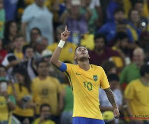 Neymar assure, le Brésil reçu cinq sur cinq