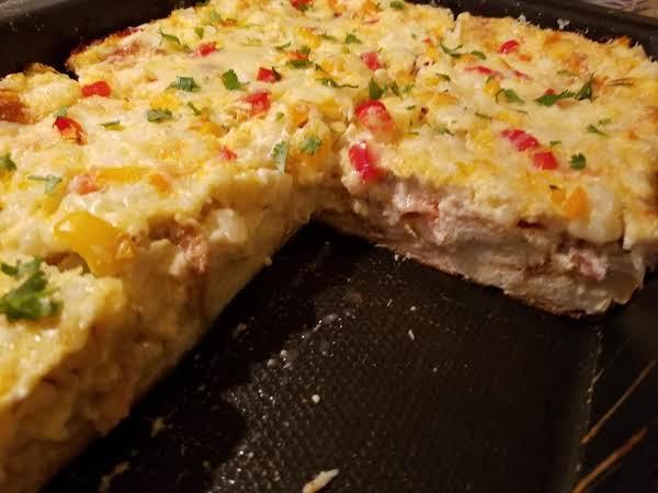 Seafood Brunch Bake