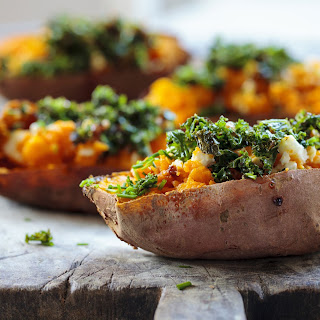 Healthy Stuffed Sweet Potatoes Recipes