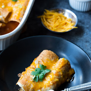 Easy Beef and Cheese Enchiladas Recipe