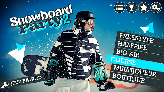 Snowboard Party: World Tour Capture d'écran