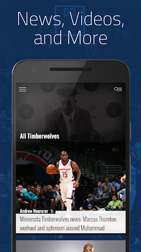 Dunking with Wolves: News for Timberwolves Fans 5.2.4 screenshots 1