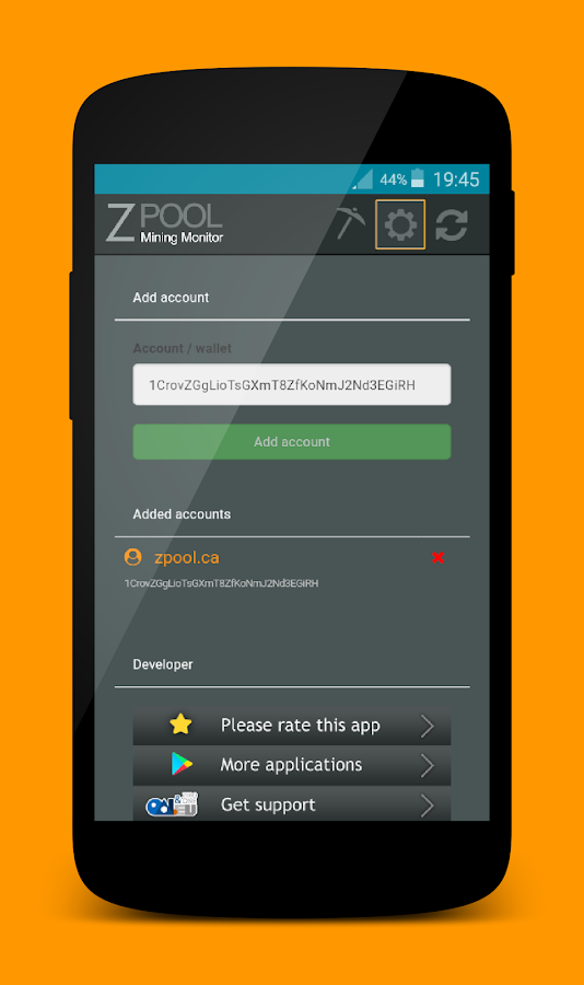 Zpool Balance Monitor- screenshot