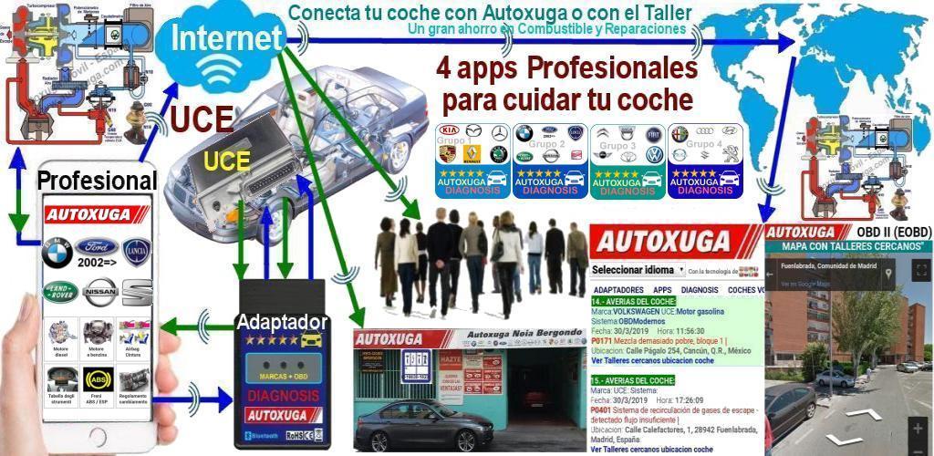 Download Scanner Pro Citroen, Toyota, VW, Dacia, Fiat, Mini APK