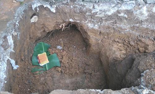 Thành Nhà Hồ, phát hiện thêm trống đồng cổ 3