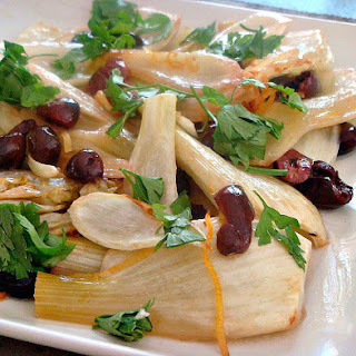 Baked Fennel with Lemon and Olives