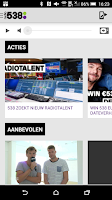Screenshot of Radio 538
