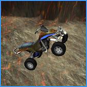 Stunt Racer - Volcano Escape