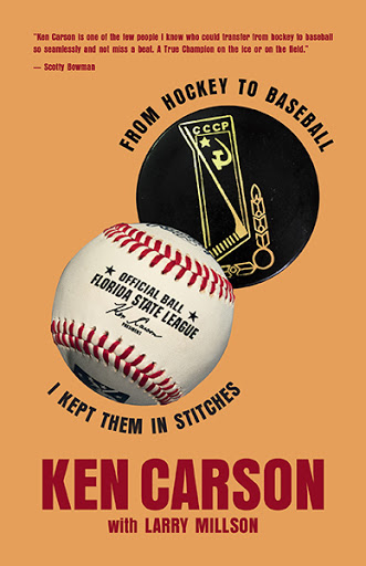 From Hockey to Baseball: I kept them in stitches cover