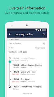 Trainline - UK Times & Tickets- screenshot thumbnail