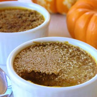 Pumpkin Cardamom Crackle Custard.