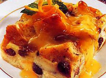 French Pudding With Orange Sauce Recipe