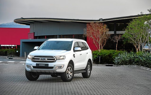 Ford Everest. Picture: SUPPLIED