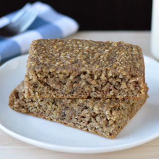Healthy Oatmeal Breakfast Squares