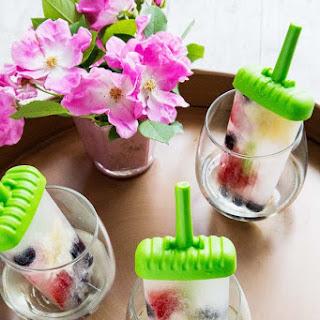 White Wine Spritzer Popsicles