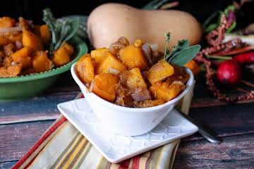 Butternut Squash and Shallots