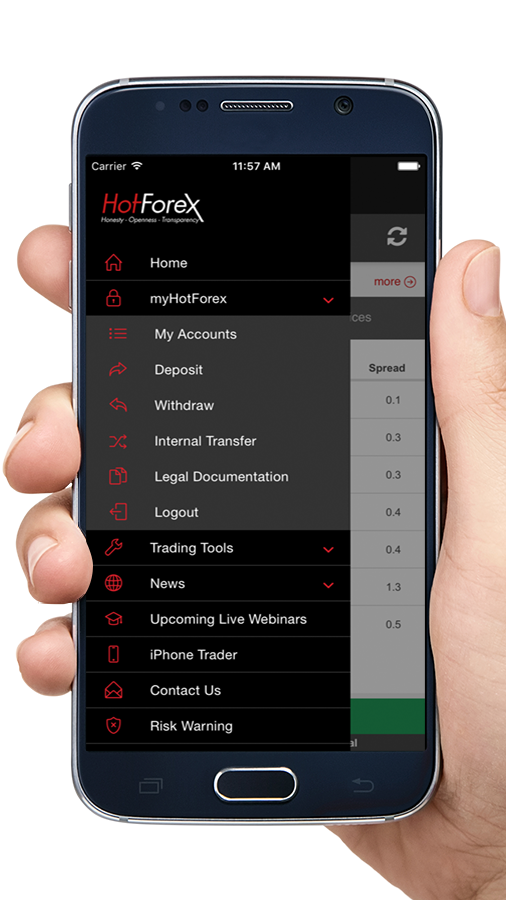 HotForex- screenshot