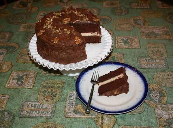I Combined A Couple Of Recipes And Came Up With This. The Peanut Butter Filling Makes It Extra Special!