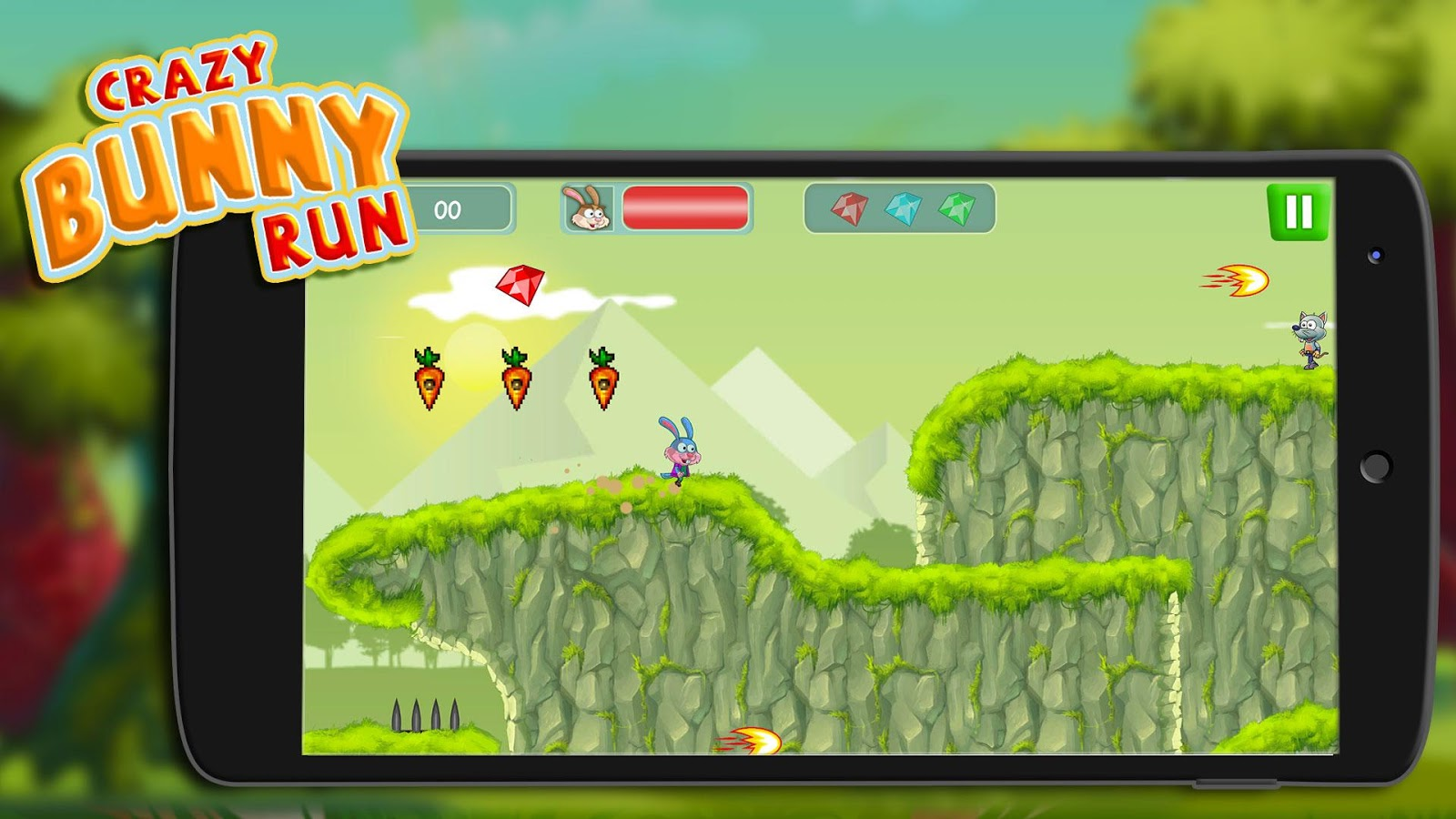 Super Carrot Rush: Collect Baby Carrots & Coins- screenshot
