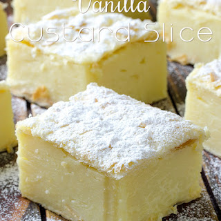 Vanilla Custard Slice.