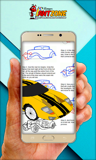 玩免費遊戲APP|下載How To Draw Cars (Lamborghini) app不用錢|硬是要APP