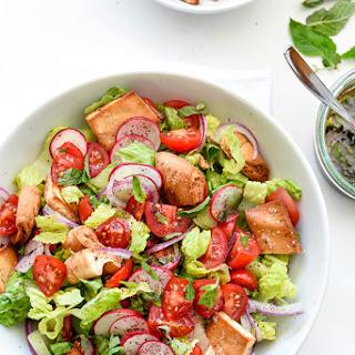 The Best Fattoush Salad