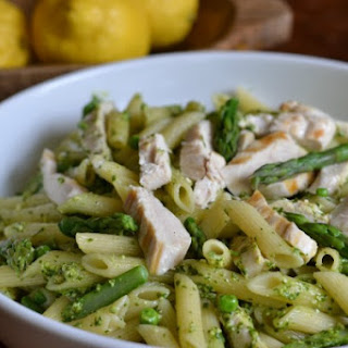 Pasta With Asparagus And Peas Recipes